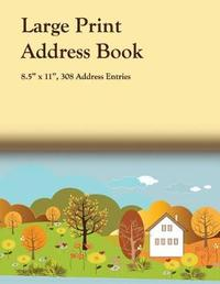 Large Print Address Book by John G Depretis