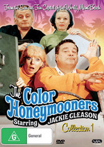Color Honeymooners, The - Collection 1 (3 Disc Set) on DVD