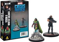 Marvel Crisis Protocol Miniatures Game Vision and Winter Soldier Expansion image