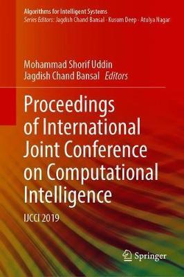Proceedings of International Joint Conference on Computational Intelligence