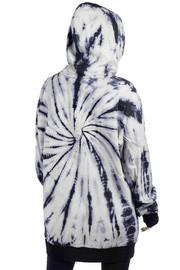 Killstar: Not Grateful Tie-Dye Hoodie - XL / Black