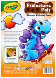 Crayola: Prehistoric Pals - Coloring Book With Stickers