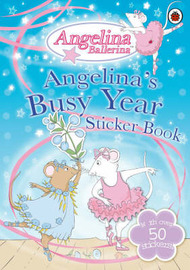 Angelina's Busy Year Sticker Book image