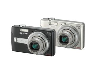 Fujifilm J50 8.2MP Digital Camera Silver Bundle 1GB XD and Case image