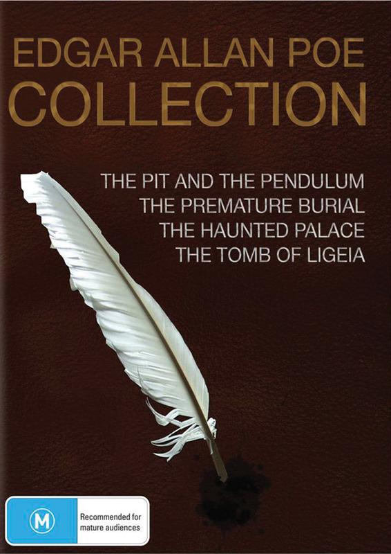 Edgar Allan Poe Collection (4 Disc Set) on DVD