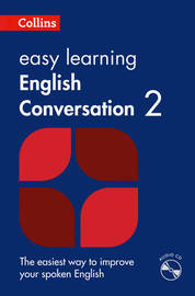 Easy Learning English Conversation: Book 2 by Collins Dictionaries image