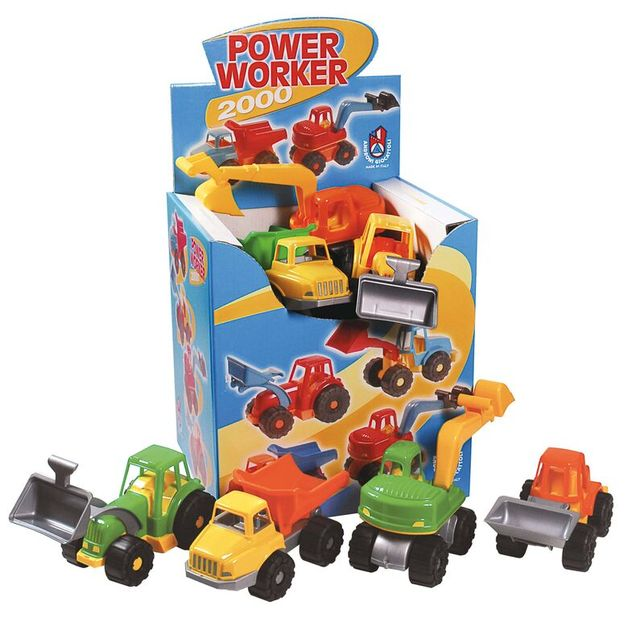 Adroni: Power Worker Assorted Construction Vehicle