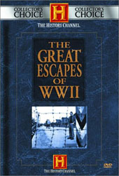 The Great Escapes Of WWII on DVD