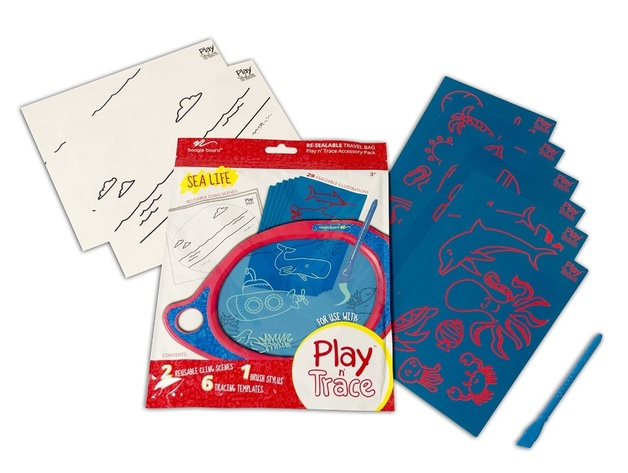 Boogie Board: Play & Trace Accessory Pack - Sea Life