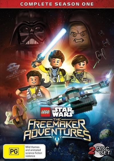 LEGO Star Wars: The Freemaker Adventures - Season 1 on DVD image