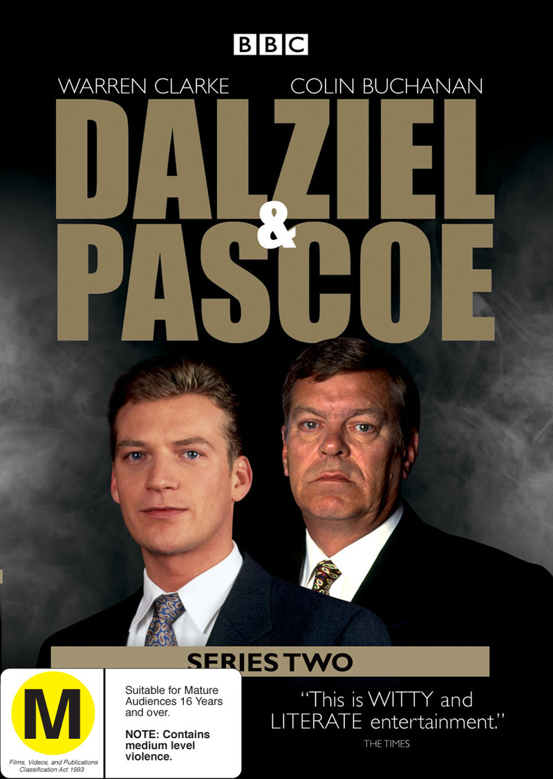 Dalziel & Pascoe - Series 2 (2 Disc Set) on DVD image