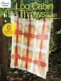 Log Cabin Throws to Crochet by Cindy Adams image
