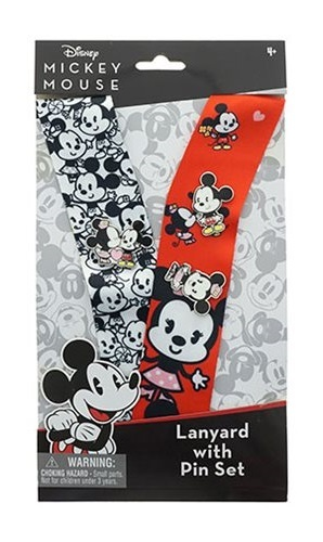 Disney: Mickey Mouse: Deluxe Lanyard & Pins Set - (D23 2019 Convention Exclusive)
