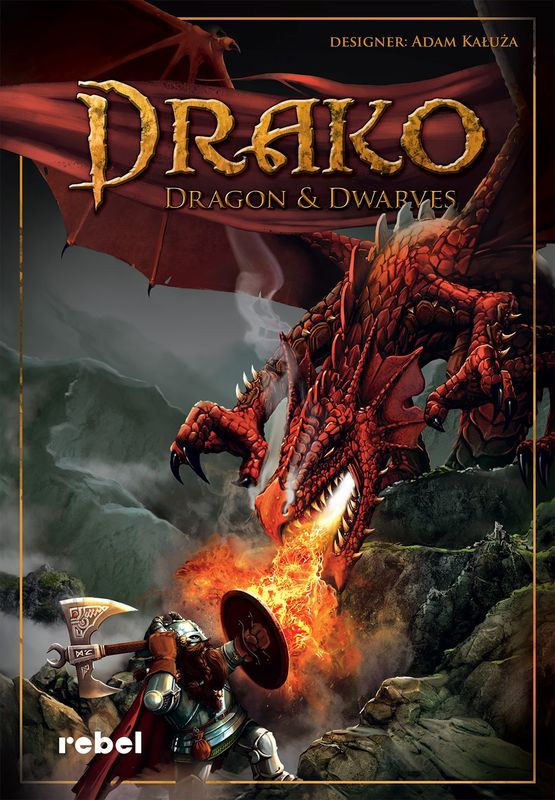 Drako: Dragons and Dwarves - Board Game