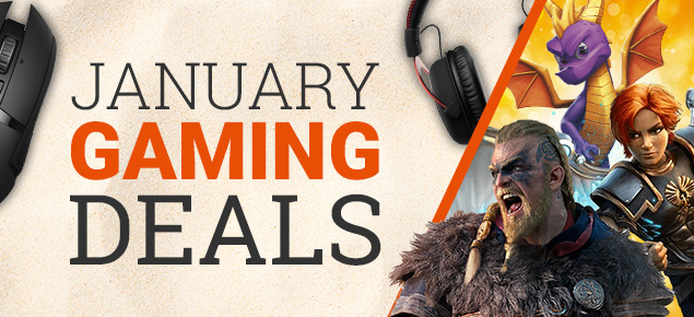 January Gaming deals