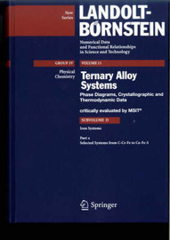 Selected Systems from C-Cr-Fe to Co-Fe-S by Materials Science and International Team