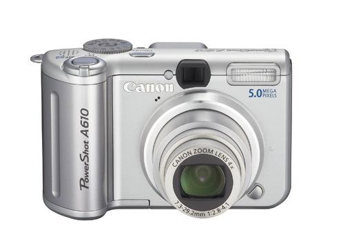 Canon Digital Camera Powershot 5.0MP A610