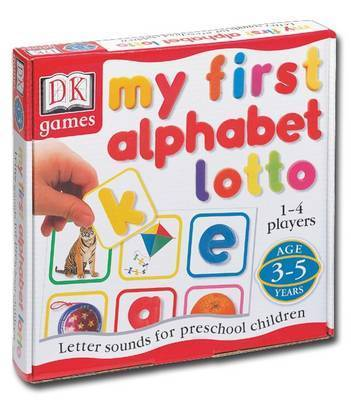 My First Alphabet Lotto: Letter Sounds for Preschool Children
