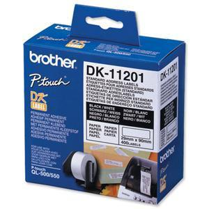 Brother Standard Address Label DK11201