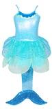 Pink Poppy: Summer Mermaid Dress (Size 5/6) - Blue
