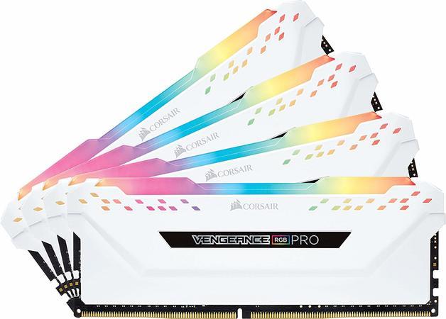 4x8GB Corsair Vengeance Pro 3200MHz DDR4 RGB RAM | at Mighty