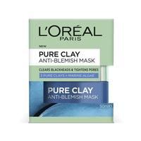 L'Oreal Paris Pure Clay - Blemish Rescue Mask (50ml)