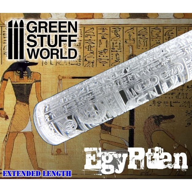 Green Stuff World Texture Rolling Pin: Egyptian