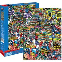 Marvel: 1,000 Piece Puzzle - Captain America Collage