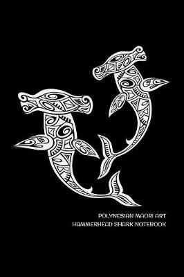 Polynesian Maori Art Hammerhead Shark Notebook by Delsee Notebooks image