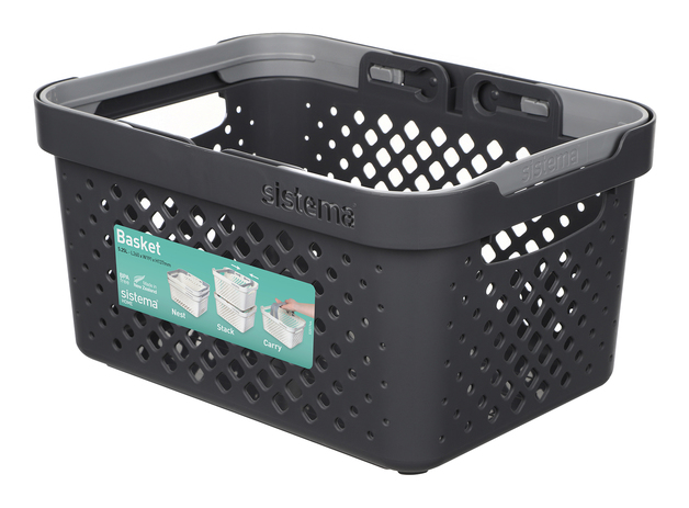 Sistema Home Basket - Charcoal (5.25L)