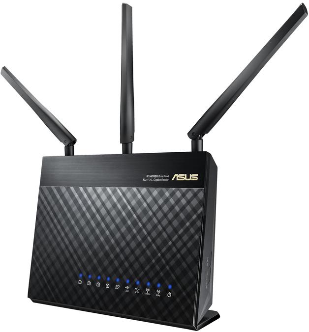 ASUS RT-AC68U AC1900 Dual Band Gigabit Wi-Fi Router