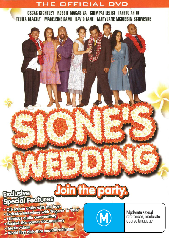 Sione's Wedding on DVD