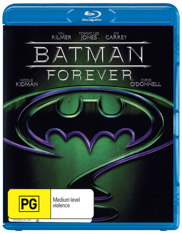 Batman Forever on Blu-ray