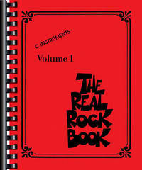 The Real Rock Book by Hal Leonard Publishing Corporation