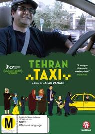 Tehran Taxi on DVD