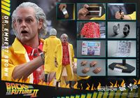 "Back To The Future: Dr Emmett Brown - 12"" Articulated Figure image"