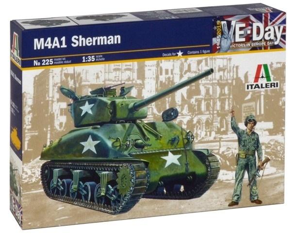 Italeri: 1:35 M4A1 Sherman - Model Kit