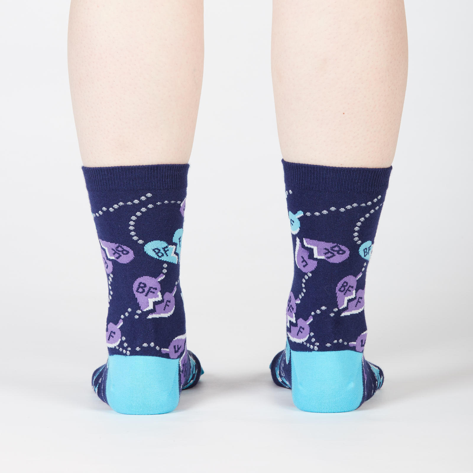 Women's - Best Friends 4 Ever Crew Socks image