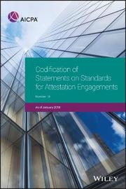 Codification of Statements on Standards for Attestation Engagements, January 2018 by Aicpa
