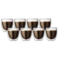 Bodum: Pavina Double Wall Glasses (250ml) - Box Of 8