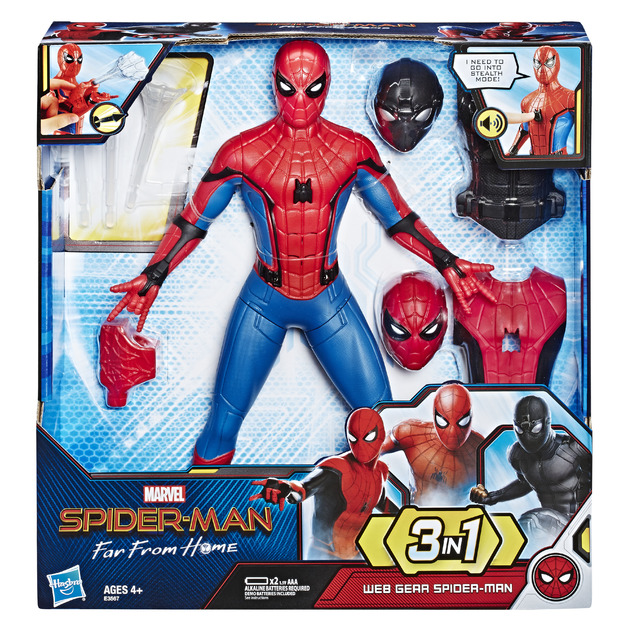Spider-man: Web Gear - Deluxe Feature Figure