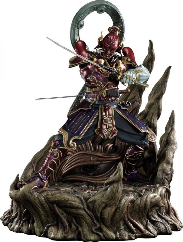 """Tekken: Yoshimitsu - 28"""" Premium Statue"""