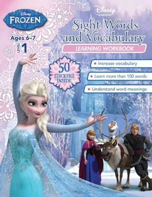 Disney Frozen Sight Words and Vocabulary Learning Workbook
