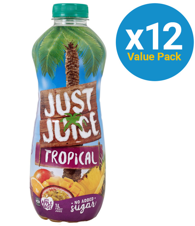 Just Juice: Tropical 1L (12 Pack)