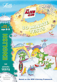 Aliens Quick Test: English 8-9 by Lynn Huggins Cooper image