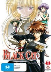 Black Cat - Vol. 1 on DVD