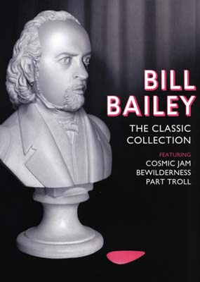 Bill Bailey: The Classic Collection - Cosmic Jam/ Bewilderness/ Part Troll (3 Disc Set) on DVD image