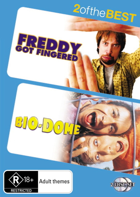 Freddy Got Fingered / Bio-Dome - 2 Of The Best (2 Disc Set) on DVD