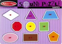 Melissa & Doug: Shapes Sound Puzzle