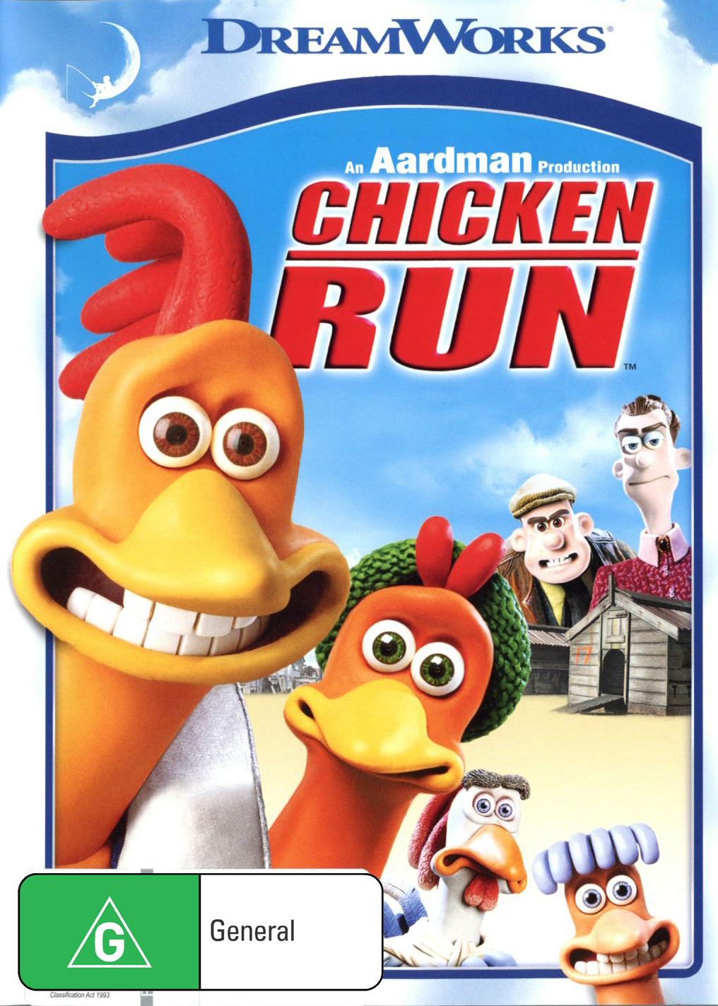 Chicken Run on DVD image